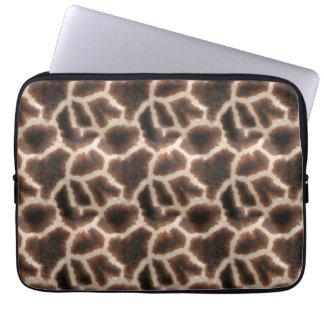 Unique Felix van Driem print giraffe laptop cover Computer Sleeves