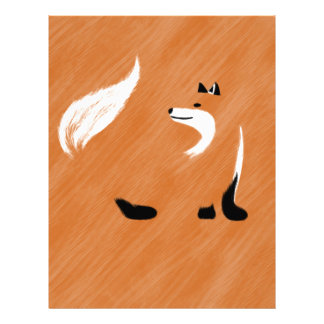 Unique Fox Design Letterhead
