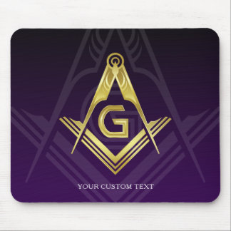 Unique Freemason Gift Ideas | Personalized Masonic Mouse Pad