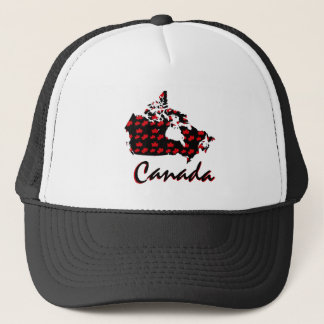 Unique fun Canadian red Maple Canada  hat
