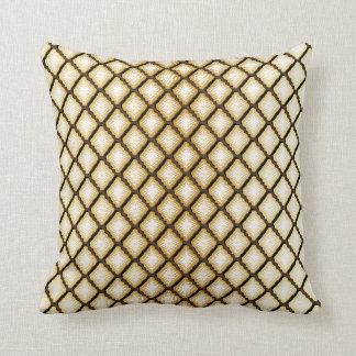 Unique Geometric Diamond Design Throw Pillow