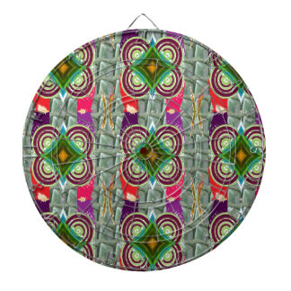 Unique geometrical n graphical pattern art gifts dartboard