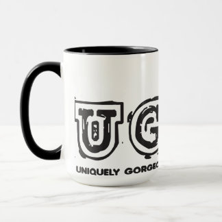 Unique Gorgeous & Loving Yourself Mug