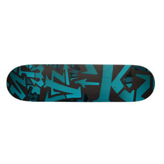 Unique Graffiti Skateboard
