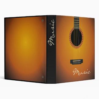 Unique Guitar Music Binder
