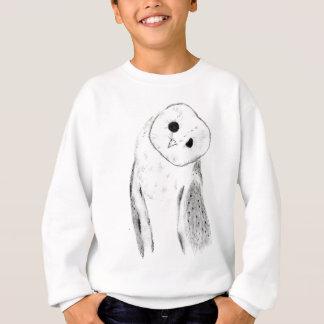 Unique Hand Drawn Barn Owl Sweatshirt