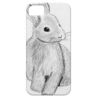 Unique Hand Drawn Bunny Case For The iPhone 5