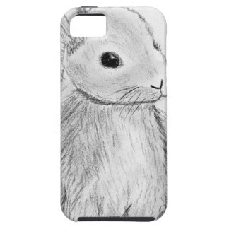 Unique Hand Drawn Bunny iPhone 5 Cover