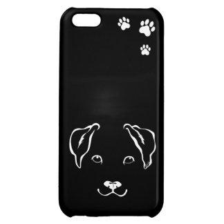 Unique Hand Drawn Dog iPhone 5C Slim Phone Case Cover For iPhone 5C