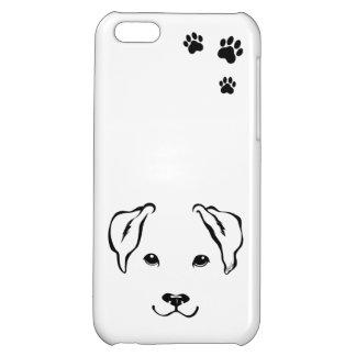 Unique Hand Drawn Dog iPhone 5C Slim Phone Case iPhone 5C Cover