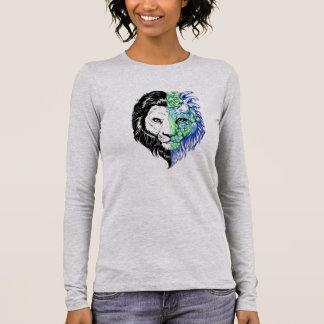 Unique Hand Drawn Mystic Lion Women's Long Sleeve Long Sleeve T-Shirt