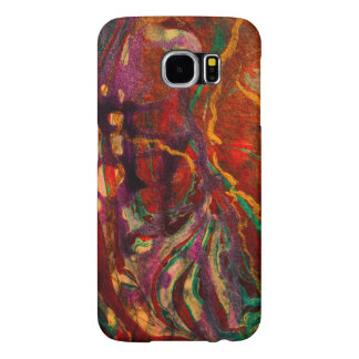Unique hand painted abstract art Samsung Galaxy S6 Samsung Galaxy S6 Cases
