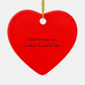 Unique Heart Wedding  Proposal Idea Ornament