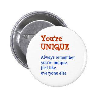 UNIQUE Inspiration Motivation Wisdom Words 2 Inch Round Button