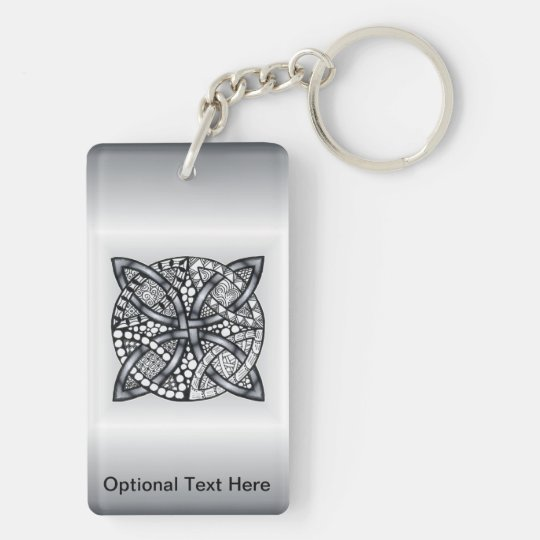 Unique Inspired Celtic Knot Keychain