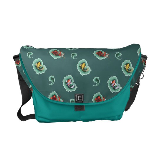 Unique Koi Commuter Bag
