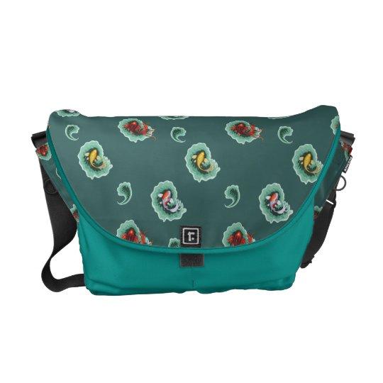 Unique Koi Messenger Bag