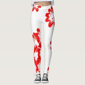 unique leggings with whiteness