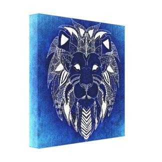 Unique Lion Canvas Art