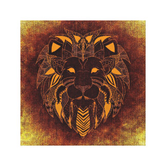 Unique Lion Canvas Art