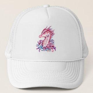 Unique Lipstick Dragon Art Hat