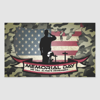 Unique Memorial Day honors Sticker