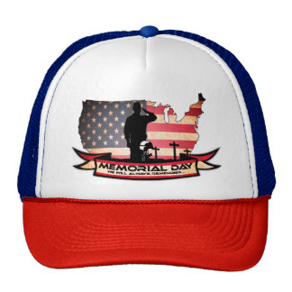 Unique Memorial Day honors Trucker Hat