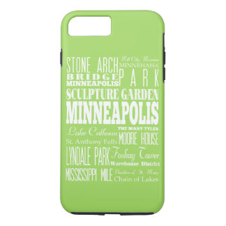 Unique Minneapolis, Minnesota Gift Idea iPhone 7 Plus Case