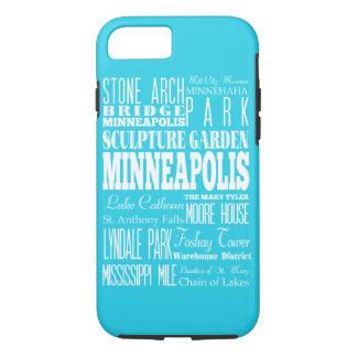 Unique Minneapolis,Minnesota Gift iPhone 7 Case