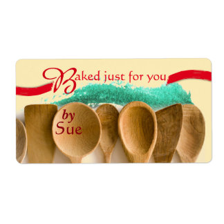 Unique Modern Baked by You Labels