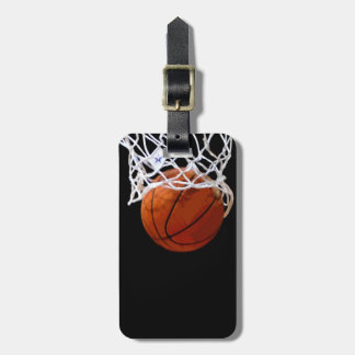 Unique Modern Basketball Luggage Tag