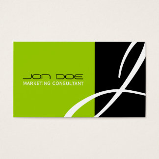 Unique Monogram Business Cards