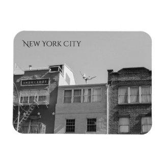 Unique New York Yoga Magnet