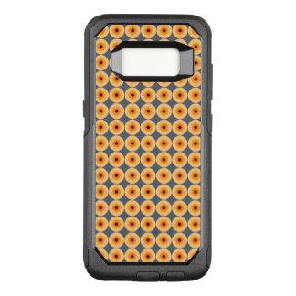 Unique Orange Blue Yellow Polka Dot Pattern OtterBox Commuter Samsung Galaxy S8 Case