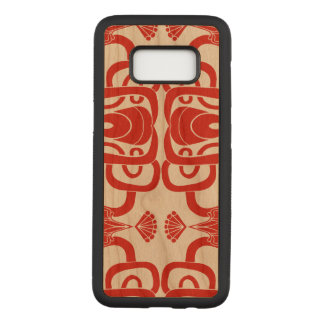 Unique Oriental Vibe Carved Samsung Galaxy S8 Case