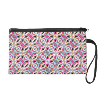 Unique Pattern Design Wristlet
