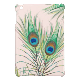 Unique Peacock Feathers Pattern iPad Mini Case