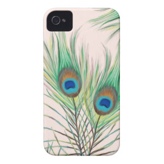 Unique Peacock Feathers Pattern iPhone 4 Cover
