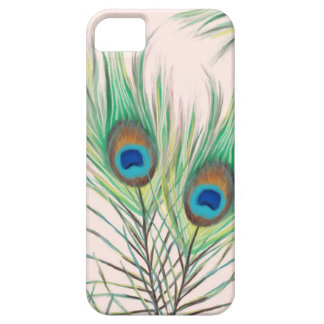 Unique Peacock Feathers Pattern iPhone 5 Case