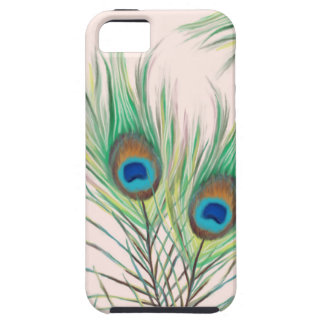 Unique Peacock Feathers Pattern iPhone 5 Cover