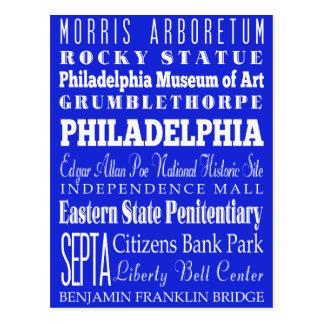 Unique Philadelphia, Pennsylvania Gift Idea Postcard