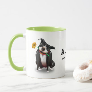 Unique Pitbull Mugs   Personalized Dog Lover Gifts