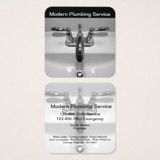 Unique Plumber Business Profile Cards