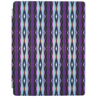 Unique Purple Pattern iPad Cover