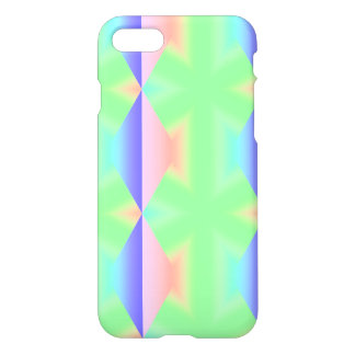 Unique Rainbow Sugar Crystals Green Colored Sweets iPhone 7 Case
