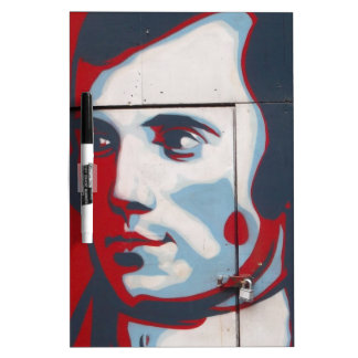 Unique Robert Burns Street Art! Dry-Erase Whiteboards