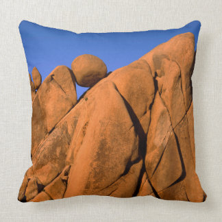 Unique rock formation, California Throw Pillow