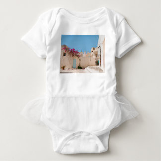 Unique Santorini architecture Baby Bodysuit