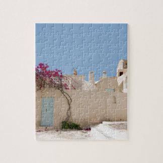 Unique Santorini architecture Jigsaw Puzzle