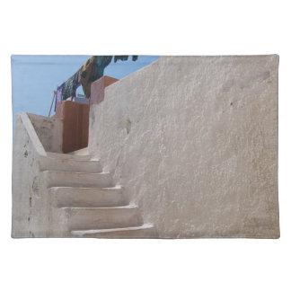 Unique Santorini architecture Placemat
